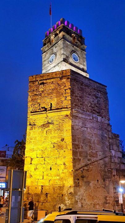 saat kulesi antalya kale kapisi kaleici manzara (4)