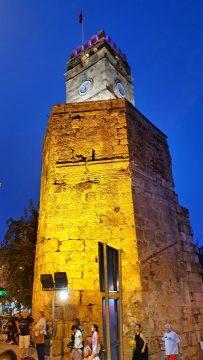 saat kulesi antalya kale kapisi kaleici manzara (5)
