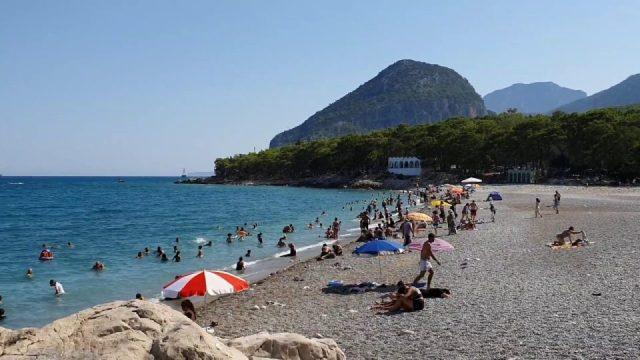 Antalya Çaltıcak Plajı Deniz Manzarası Antalya Doğal Güzellikleri Gezilecek Yerleri Tatil Piknik