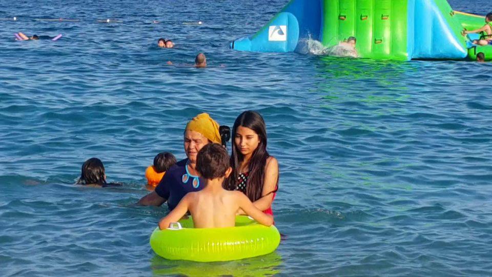 Konyaaltı Plajı Antalya Deniz Manzarası Gezi Tatil