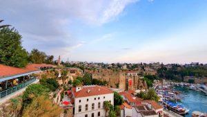 Tophane Çay Bahçesi Antalya Manzaraları