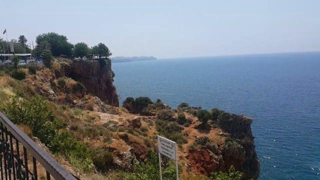 Antalya Deniz Manzarası - Beach Park Plajı Antalya Gezi Tatil