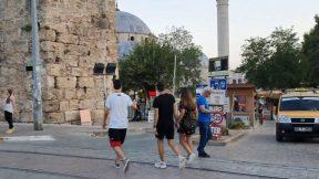 Kalekapısı Antalya Saat Kulesi Tramvay Yolu