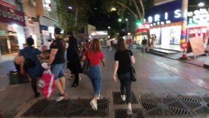 Antalya Kapalı Yol Akşam Yürüyüş Videosu