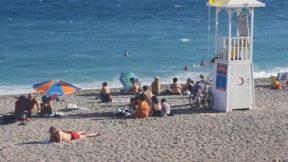 Sonbaharda Konyaaltı Plajı Deniz Manzarası Antalya Gezilecek Yerleri