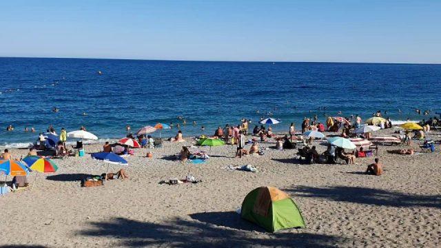 Deniz Manzaraları - Konyaaltı Plajı Deniz Manzarası Antalya