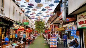 Şemsiyeli Sokak Antalya - Kalekapısı Dönerciler Çarşısı