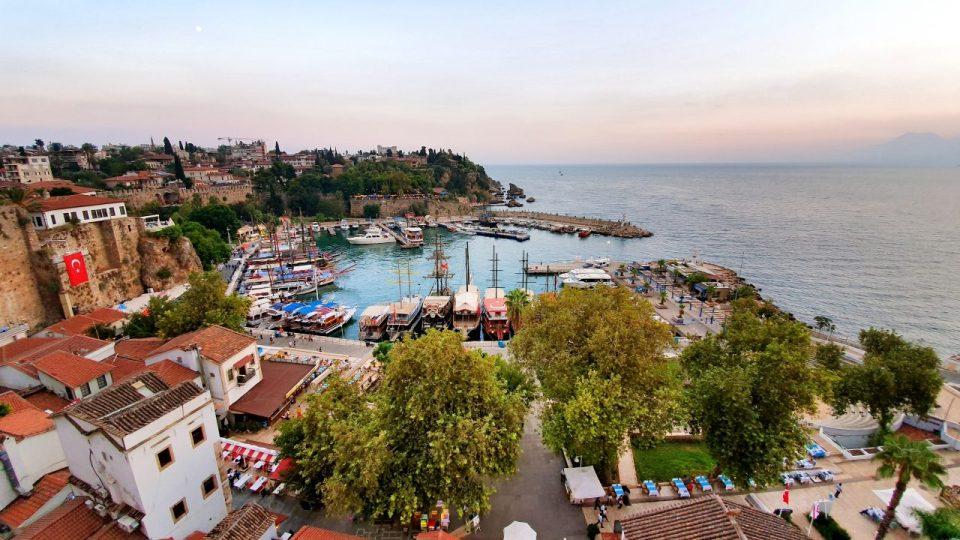 antalya cumhuriyet meydani yat limani kale içi deniz manzaralari (5)