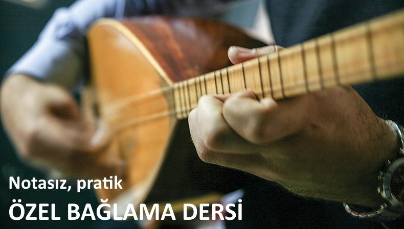 Özel bağlama dersi Antalya