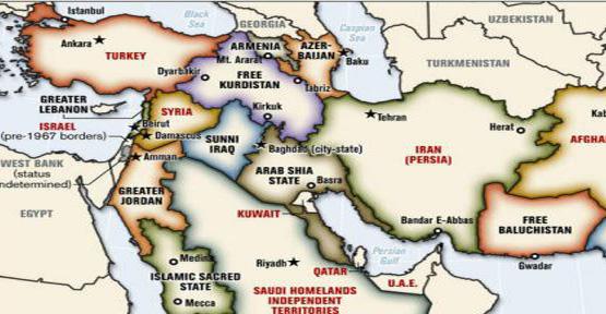 buyuk ortadogu projesi bolunmus turkiye haritasi buyuk israil arz-i mevud vaad edilmis topraklar