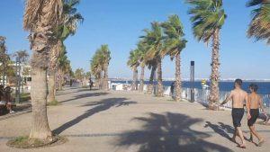 Konyaaltı Kent Meydanı Yürüyüş Yolu - Konyaaltı Plajları Deniz Manzarası