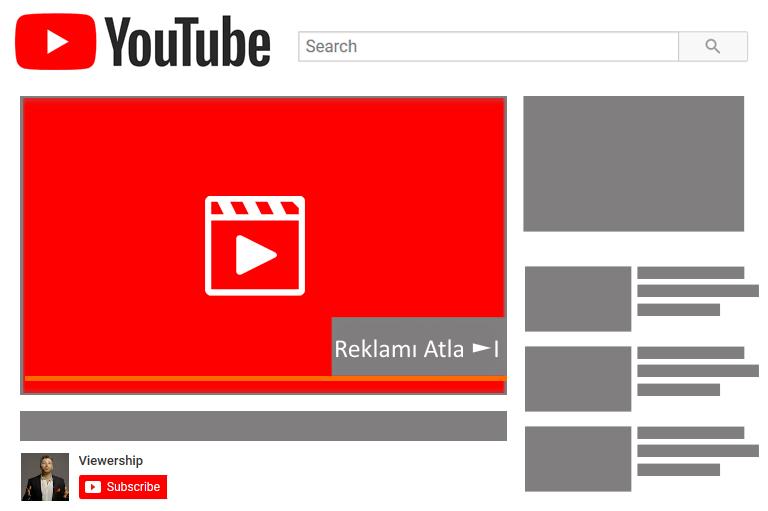 Sponsorlu Youtube Reklamı – 100 Bin Gösterim 900 TL.