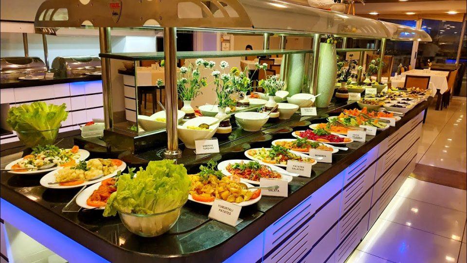 Antalya Açık Büfe Kahvaltı – Blue Garden Hotel Restaurant