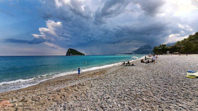 Topçam Antalya Piknik Mangal Alanları Deniz Manzarası (11)