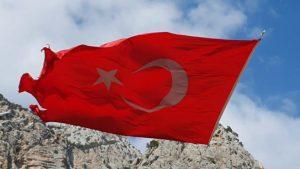 Türk Bayrağı - Çandır Çayı Konyaaltı Antalya