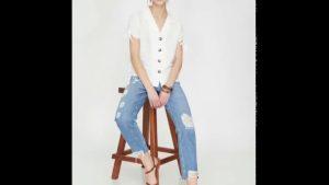 Bayan Pantolon Modelleri 2020 Kadın Moda Bayan Giyim Kot Kumaş Pantolon Çeşitleri