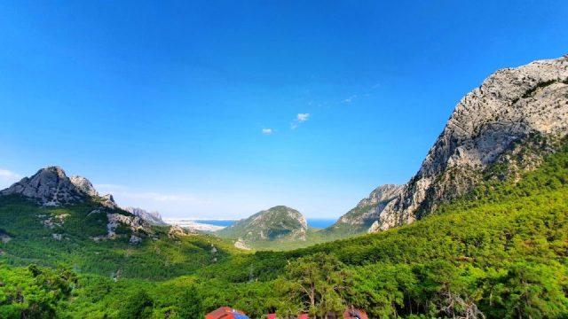 Antalya Altınyaka Yolundan Muhteşem Deniz Manzaraları ve Çam Ormanları