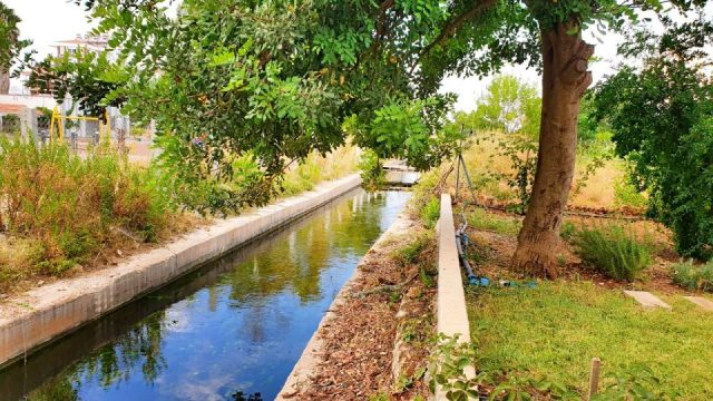 Sulama Kanalı - Antalya Döşemealtı Hobi Bahçesi Muzaffer Aksoy_1