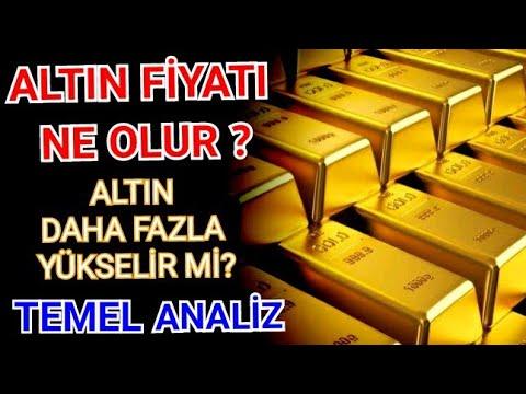 Altın fiyatları yükselir mi ? Altın fiyatı ne zaman düşer ? Gram altın küçük altın kaç lira olur ?