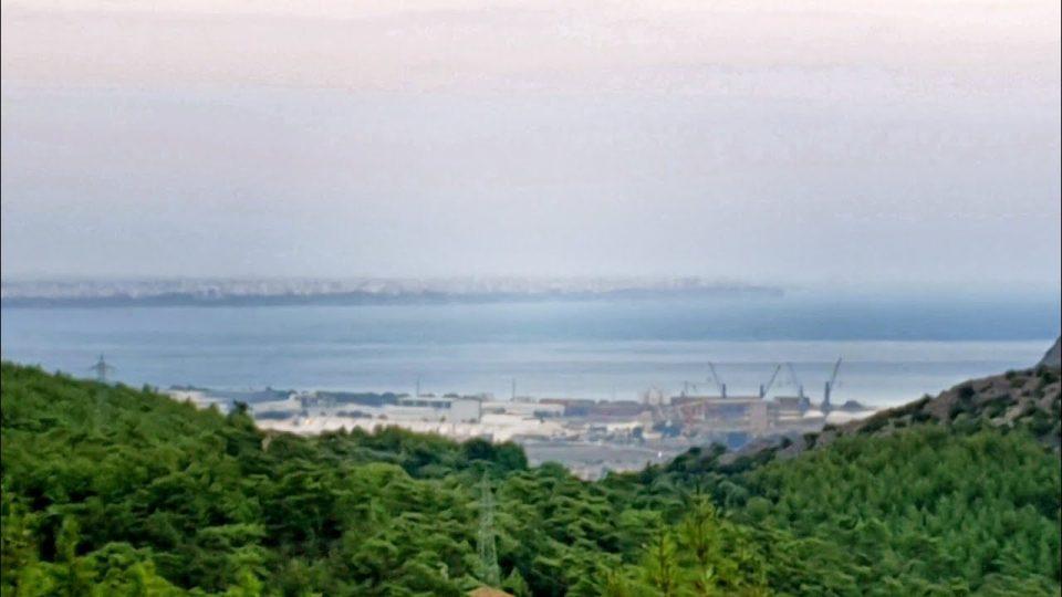 Antalya Altınyaka Yolundan Muhteşem Deniz Manzarası ve Çam Ormanlarının Güzelliği