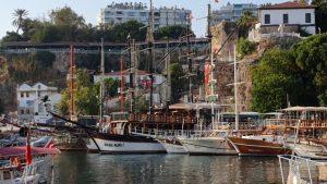 Antalya Yat Limanı - Antalya Gezilecek Turistik Yerler - Antalya City Center Old Town