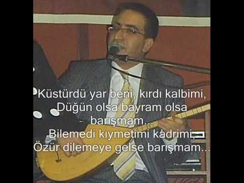 Barışmam – Ali Aksoy