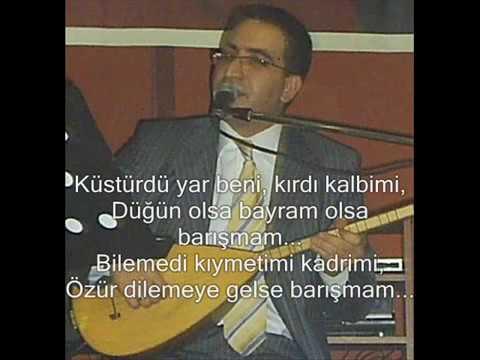 Barışmam   Ali Aksoy