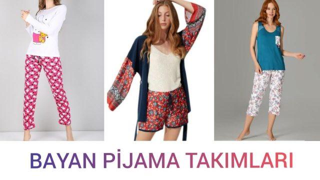 Bayan Pijama Takımı Modelleri Kadın Moda Giyim Aksesuar Çeşitleri