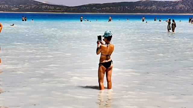 beyaz adalar plajı manzara salda gölü sahilleri_8