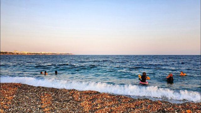 Cennet Antalya'dan Deniz Manzarası Konyaaltı Plajı