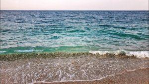 Dalga sesleri Konyaaltı Plajı Antalya