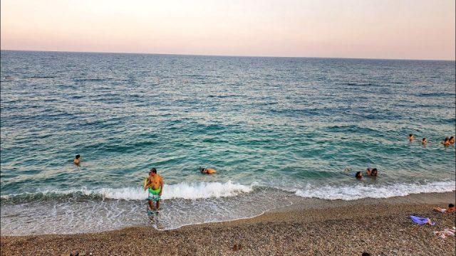 Deniz Manzarası Antalya Konyaaltı Plajları