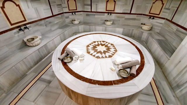 hamam sauna masaj köpük tuz buhar odası spa blue garden hotel konyaaltı antalya_28