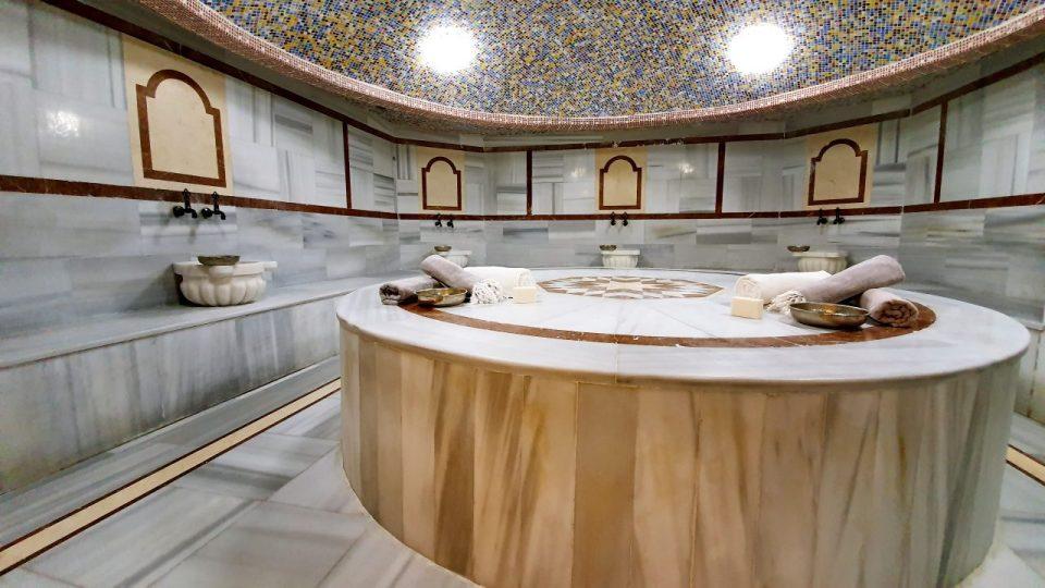 hamam sauna masaj köpük tuz buhar odası spa blue garden hotel konyaaltı antalya_34