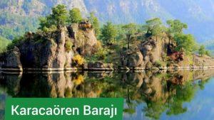 Karacaören Barajı Muhteşem Manzaralar Antalya Isparta Karayolu