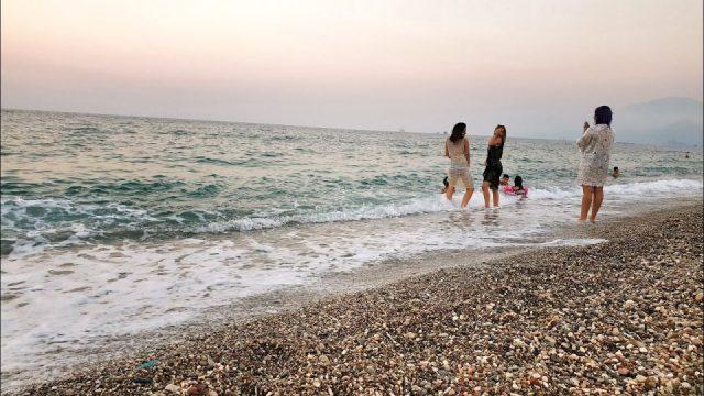 Konyaaltı Plajlarından Deniz Manzarası