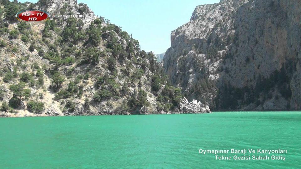 Oymapınar Barajı Ve Kanyonları Tekne Gezisi Sabah Gidiş Antalya Saklı Cennetleri