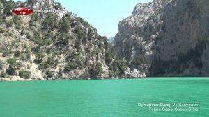 Manavgat Oymapınar Barajı Nerede ? Green Kanyon Tekne Gezisi