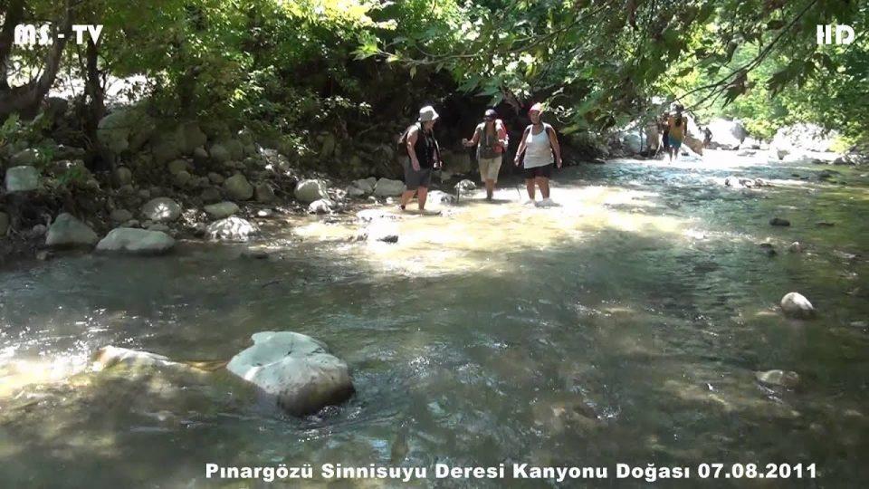 Pınargözü Sinnisuyu Deresi Kanyonu Doğası – Canyon Creek Nature Pınargözü Sinnisuyu