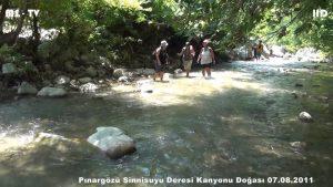 Pınargözü Sinnisuyu Deresi Kanyonu Doğası - Canyon Creek Nature Pınargözü Sinnisuyu