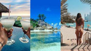 Tatil fotoğrafları güzel manzara fotoğrafları