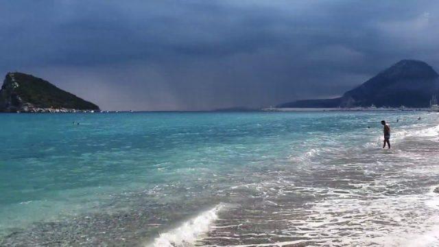 Topçam'da Muhteşem Deniz Manzarası Antalya Gezilecek Yerleri Piknik Alanları