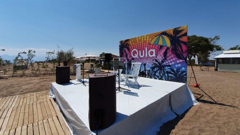 antalya lara plajları qula beach club restaurant cafe bar plaj canlı müzik 6
