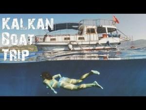 Kalkan Tekne Gezisi - Kalkan Boat Trip
