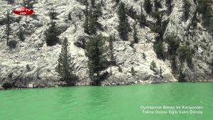 Oymapınar Barajı ve Oymapınar Kanyonları Tekne Gezisi
