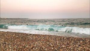 Konyaaltı Plajı Deniz Manzarası Antalya Sahilleri