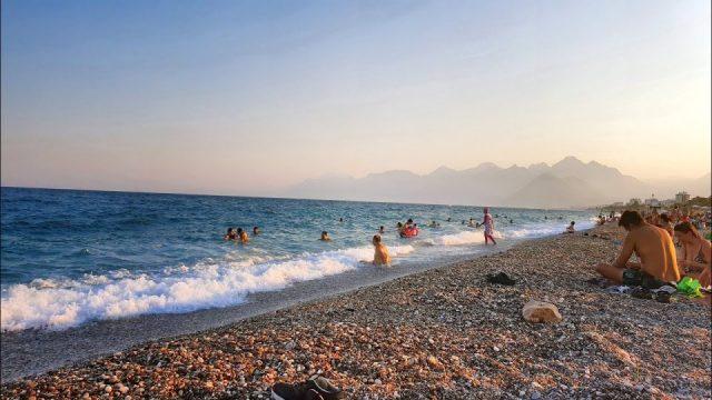 Antalya Konyaaltı Plajları Deniz Manzaraları
