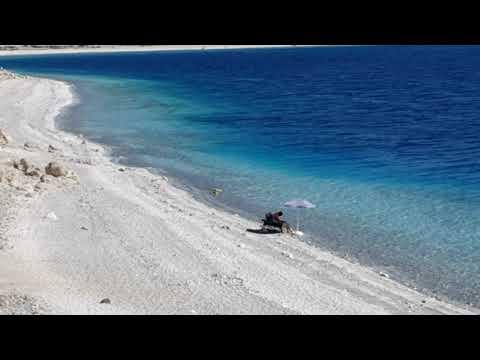 Salda Gölü Sahili Göl Manzarası Salda Plajları Manzaralar