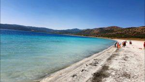 Salda Gölü Plajları - Sakin Bölgeler ve Süper Manzaralı Yerler