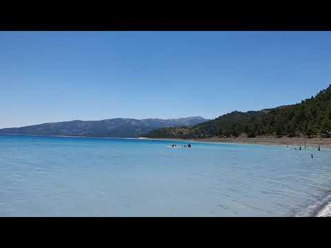 Salda Gölü Doğanbaba Plajı Manzaralar